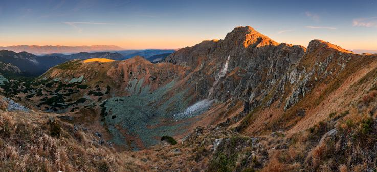 Ďumbier - najvyšší vrch Nízkych Tatier